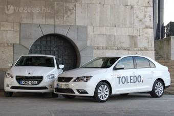 Hárommillió alatt a SEAT Toledo