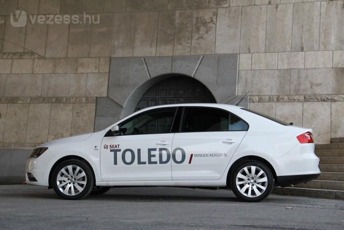 4,5 méteres a Toledo