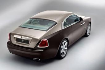 Rolls-Royce Wraith: felszállt a köd