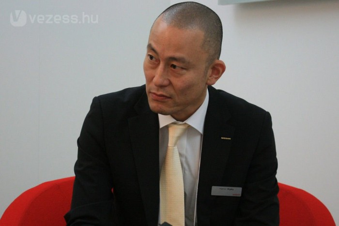 Nagyon magas rangú interjúpartner: Kato Keno a Nissan globális termékstratégiai és terméktervezési alelnöke