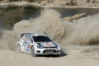 A Volkswagen nyerő a Mexikó-ralin is