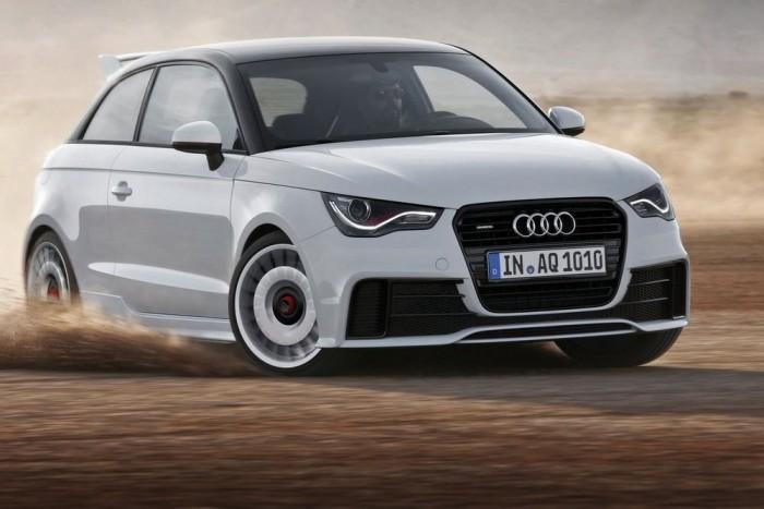Limitált szériás Audi A1 Quattro. Pörög a kisautó.
