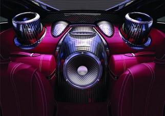 Milliós hangszórók a Paganiban