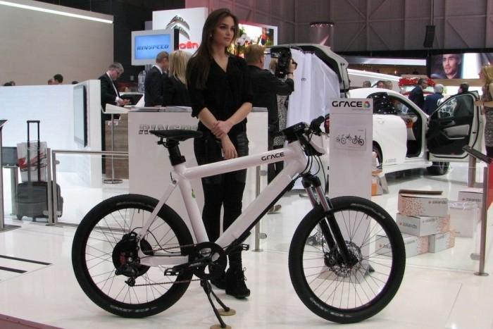 Elektromos kerékpárból nem volt hiány Genfben