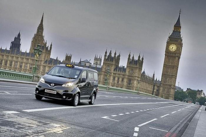 A Nissan taxija akár kerekesszékes utas szállítására is alkalmas