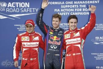 F1: Az eső segítette Massáékat