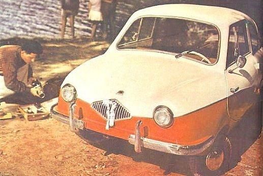 A német Fulda tervei alapján gyártották 1960-tól a Bambit. Látványos cseppkarosszériájával modernebbnek hatott kortársainál, de jóval drágább is volt azoknál.