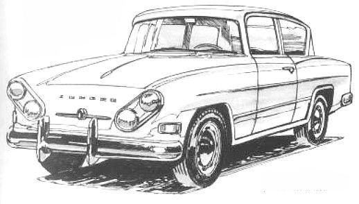 Saját fejlesztésű, igazi argentin autóként a Zunder voltaképpen soha nem létezett, ám milyen szép is lett volna: másfél literes farmotor 58 lóerővel, 140 km/óra végsebesség.
