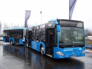 Bemutató: Budapest új kék busza