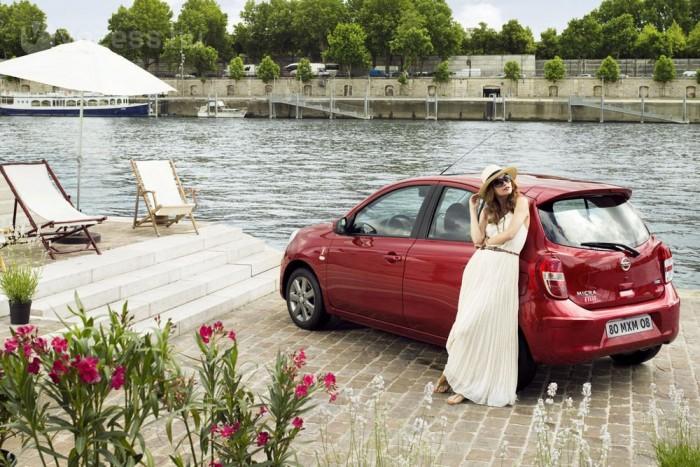 2. Nissan Micra 1,2 DIG-S 98 LE, 4,1 l/100 km. Műszakilag különleges a Nissan háromhengerese a leválasztható kompresszorral. Hat liter körüli valós átlagfogyasztása nálunk magasabb volt a sima szívómotorosénál. Más autók azonos átlaggal: FIAT Panda 0,9 TwinAir Dualogic, Kia Picanto 1,0 (13-14 collos kerékkel), Lancia Ypsilon 0,9 TwinAir, SEAT Mii 1,0 Ecomotive, Škoda Citigo GreenTec, VW Up BMT