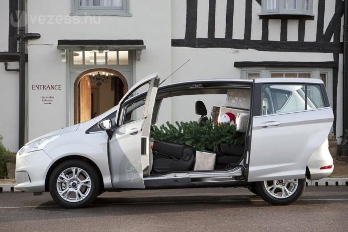 10. Ford B-Max 1,0 GTDi EcoBoost, 100 és 120 LE, 4,9 l/100 km. A Ford új fejlesztésű háromhengerese szívó változatban a Fiestában ígér parádés fogyasztást, de nehezebb autóban és feltöltéssel sem vég léket a tankra