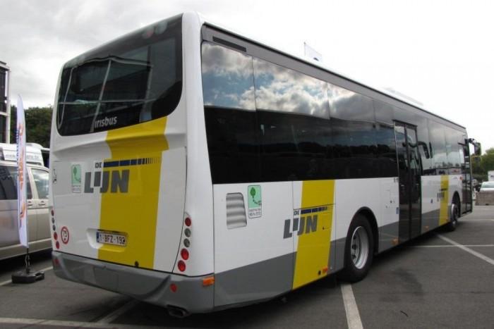 A flamandok által rendelt autóbuszok kétharmad részben alacsonypadlósak