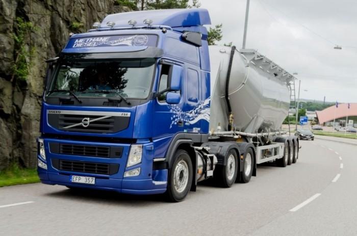 Volvo metán-dízel