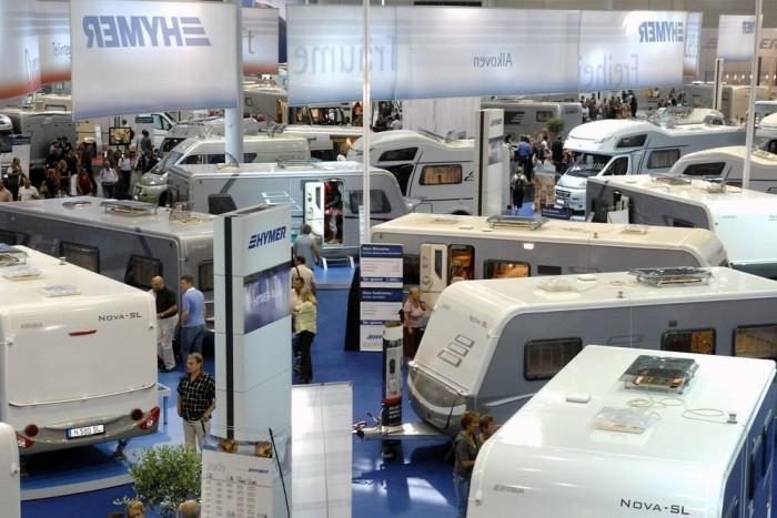 A Düsseldorf Caravan Show a lakóautók Genfi Szalonja