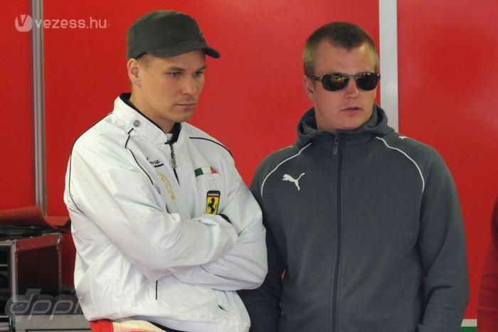 Vilander és Räikkönen - együtt kezdték