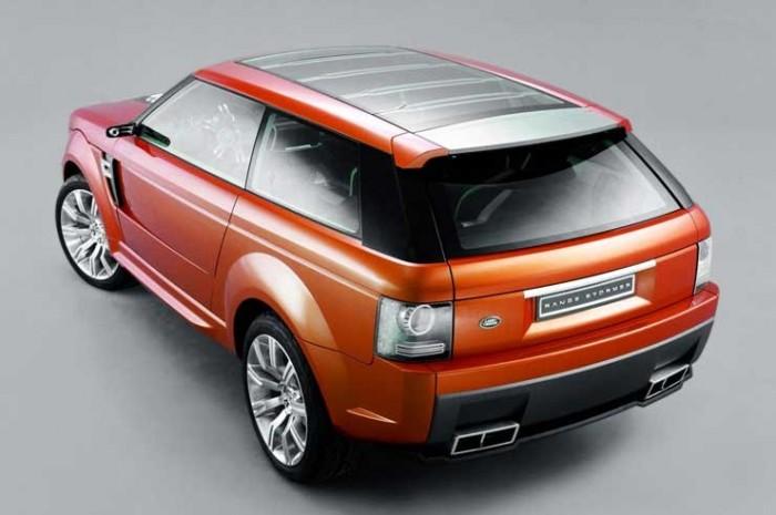 Háromajtós Range Rover