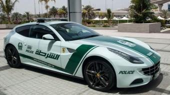 Ferrarit is kaptak a dubaji rendőrök