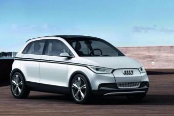 Elektromos városi Audi érkezik