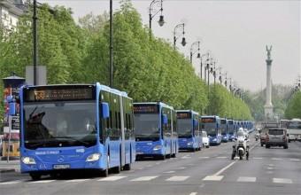 Megjött Budapest új Mercedes busza - fotók
