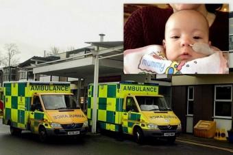 Eltévedt a mentő, meghalt a csecsemő