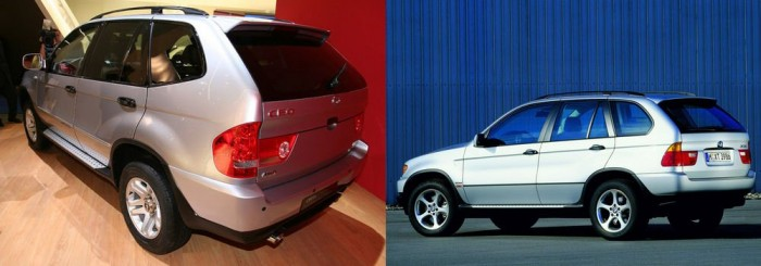 Shuanghuan CEO avagy BMW X5 kínai módra. A terebélyes SUV főleg a bajor típusból merít, de nyomokban tartalmaz némi Toyota Lad Cruisert is.