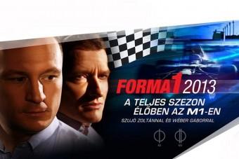 Az F1 titkai a magyar tévében