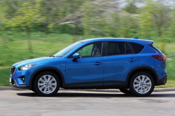 A legharmonikusabb viselkedést a Mazda produkálta