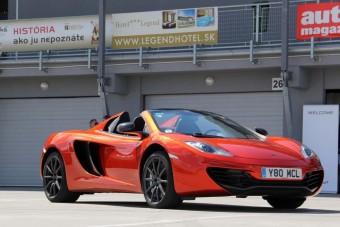 75 milliós McLarennel száguldottunk