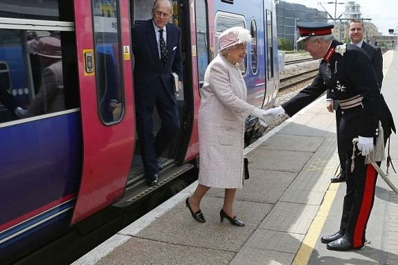 A vonaton még minden rendben volt...