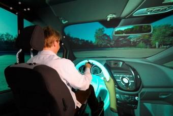 Virtuális valóságban teszteli autóit a Ford