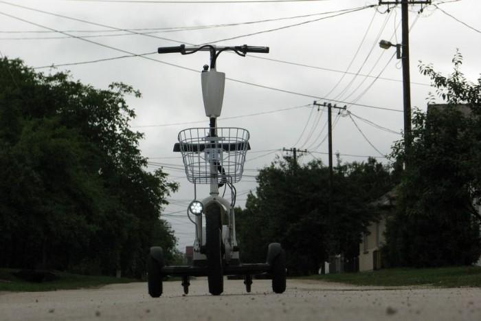 Öröm vele a bevásárlás, ha viszonylag sík faluban lakik az ember