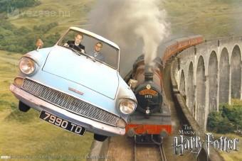 Vezettük Harry Potter repülő autóját