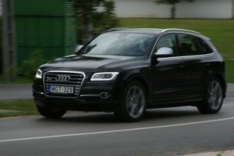 Vezettük: Audi SQ5 - A BMW nyomában