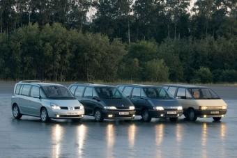 Búcsúzik a Renault Espace