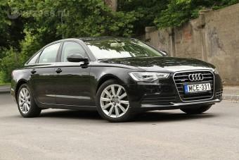Sötét erő: Audi A6 biturbo
