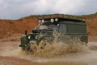 Land Rover találkozó Recsken
