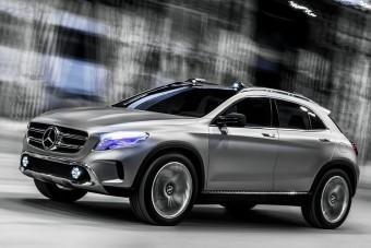 További elsőkerék-hajtású Mercedesek jönnek