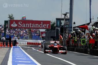 F1: Őrült hajrá lehet a futamon