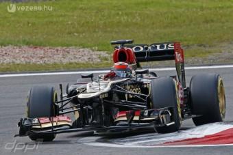 F1: Räikkönen is vezet ifjoncteszten