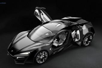 Batman-ajtókat kap az egzotikus sportkocsi