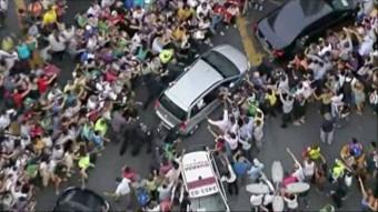 Veszélyes helyzetbe került a pápa a sofőr miatt