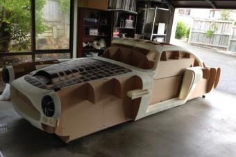 Autó készül 3D-s nyomtatóval