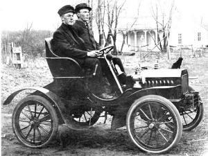 A képen az első automatizált autó.