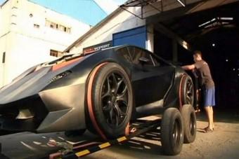 Elvetemült kirgiz Lamborghini