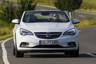 200 lóerős kabrió az Opelnél