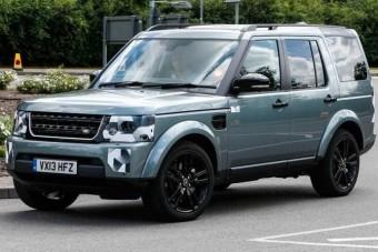 Kémfotón az új Land Rover Discovery