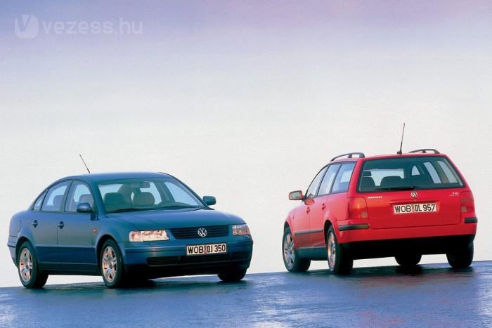 A luxusmodellek közé is bekacsintott a Passat 2001-ben, amikor 275 lóerős 4,0 literes V8-as motorral is elérhetővé vált