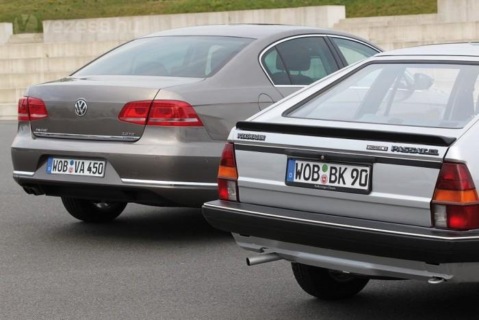 Már a 80-as évek elején készült különösen takarékos Passat. A mostani Bluemotion elődje a Formel E volt