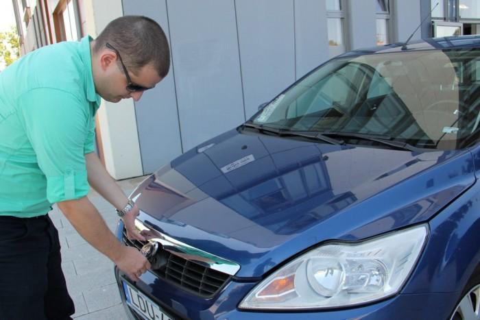 Tulajdonosa nagyon elégedett az autóval, amelyet használtan vett