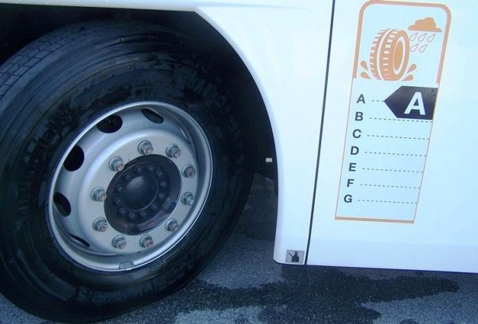 Egyelőre a Continental az egyetlen, mely A-besorolású buszabroncsokkal rendelkezik